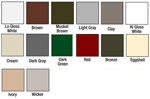 Gutter Color Choices